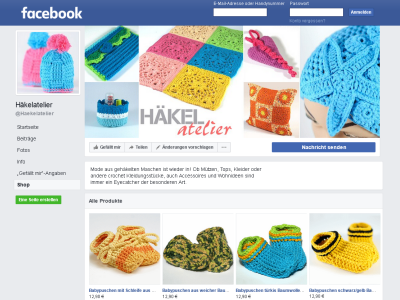 Häkelatelier Facebook-Shop