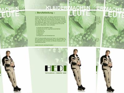 HEDI Faltblatt