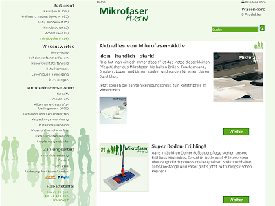Mikrofaser-Aktiv