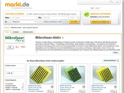 Mikrofaser-Aktiv bei markt.de