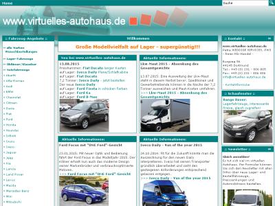 Virtuelles Autohaus